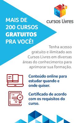 banner cursos livres