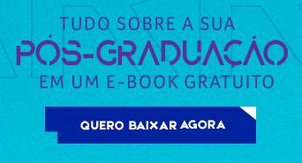 Tudo sobre a sua Pós-Graduação em um E-book gratuito. Conheça o curso de Pós de seu interesse.