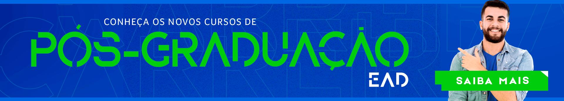 Conheça os novos cursos UNIDERP de Pós- Graduação EAD, saiba mais!