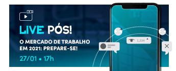 Banner Live Pós