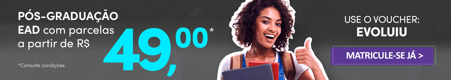 Cursos de Pós: Bolsas de estudo